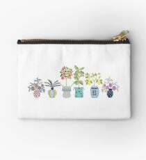 Boho Indoor Plant Toss Zipper Pouch