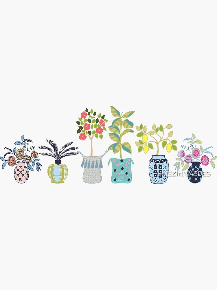 Boho Indoor Plant Toss by LIMEZINNIASDES