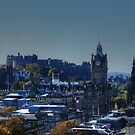 Edinburgh City Centre, Scotland by AlbaPhotography