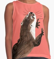Totem otter  (Living coral) Blusa sin mangas