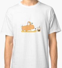 Corgi und Bubble Tea Classic T-Shirt