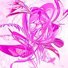 Ice Pink Flower Jukkas by mjvision Mia Niemi by mjvisiondesign
