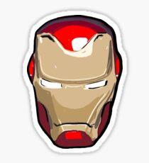 Sarcastic Superhero Helmet  Sticker