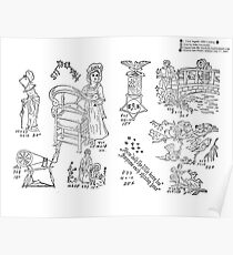 New Sample Book of Our Artistic Perforated Parchment Stamping Patterns Kate Greenaway, John Frederick Ingalls 1886 0073 Poster