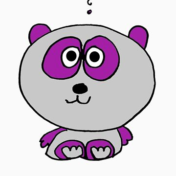 Purple Panda by stoneham