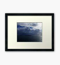 Dark Sky Framed Print