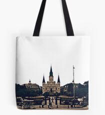 New Orleans Jackson Square Tote Bag