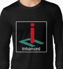 Inhansed - PlayStation logo design Long Sleeve T-Shirt