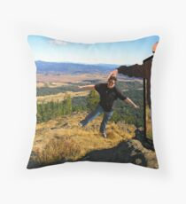 How to Sightsee in Eugene!           Throw Pillow
