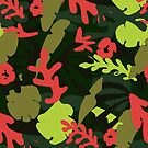 Tropical Matisse Motif by the-outfoxed