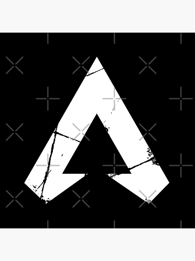 """Apex Legends Logo | Apex Legends White Symbol"" Acrylic ..."