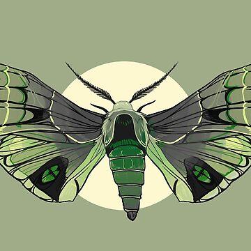 Aromantic Moth by FionaCreates72