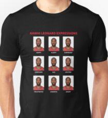 Kawhi Ausdrücke Slim Fit T-Shirt