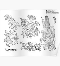New Sample Book of Our Artistic Perforated Parchment Stamping Patterns Kate Greenaway, John Frederick Ingalls 1886 0190 Poster