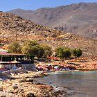 Ftenagia Restaurant and Beach by Tom Gomez
