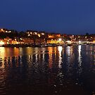 Whitby by Night II by Kat Simmons