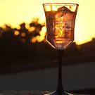 """""""G"""" Glass of Sundowner by Karlientjie"""