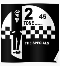 2 Tone Records Shirt - The Specials Label Poster