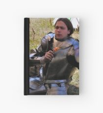 A privileged wit-cracking Knight Hardcover Journal