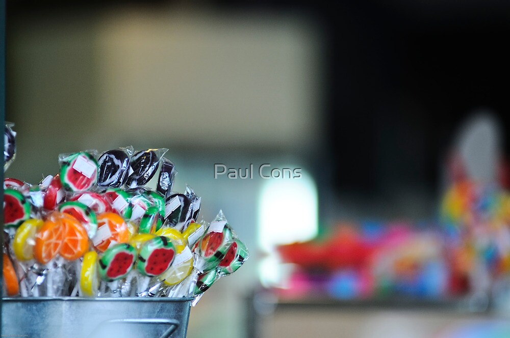 Bucket O' Lollies by Paul Cons