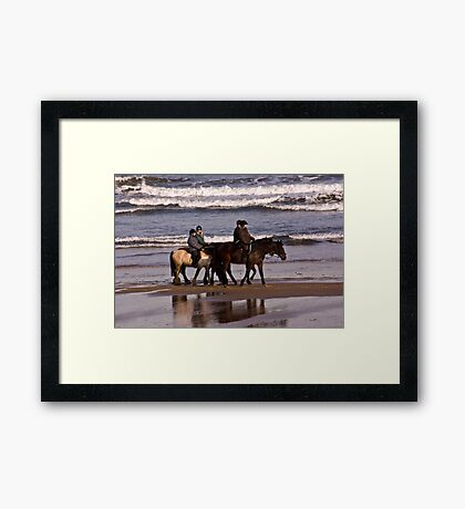 Before The Tides In Framed Print