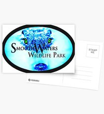 Smooth Waters Croc Logo Postcards