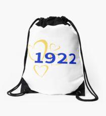 1922 Hearts Drawstring Bag
