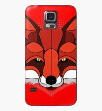 Herr roter Fuchs | tierische Darstellung Hülle & Klebefolie für Samsung Galaxy
