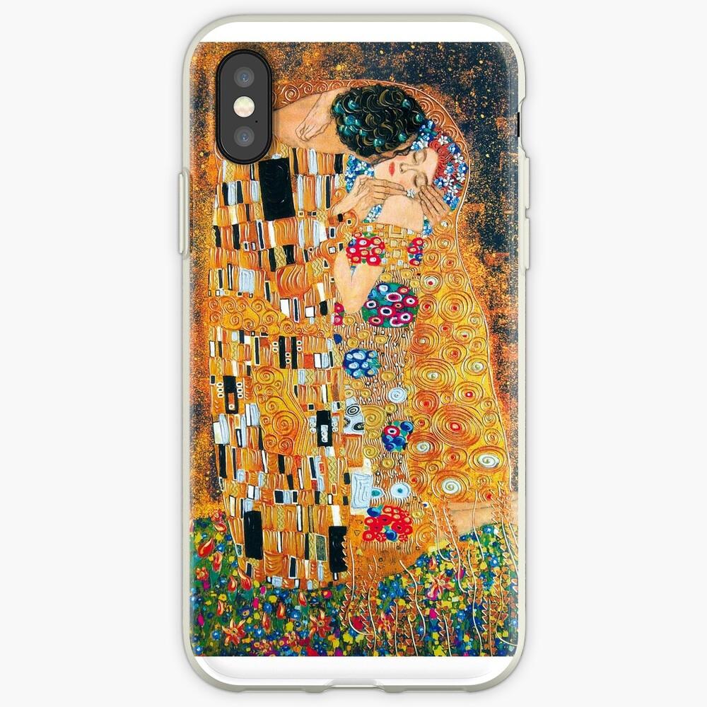 Gustav Klimt - Der Kuss iPhone-Hülle & Cover