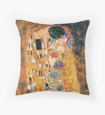 Gustav Klimt - Der Kuss Dekokissen