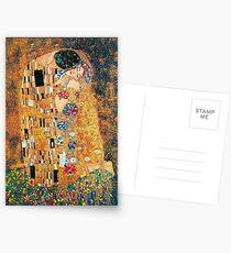 Gustav Klimt - Der Kuss Postkarten