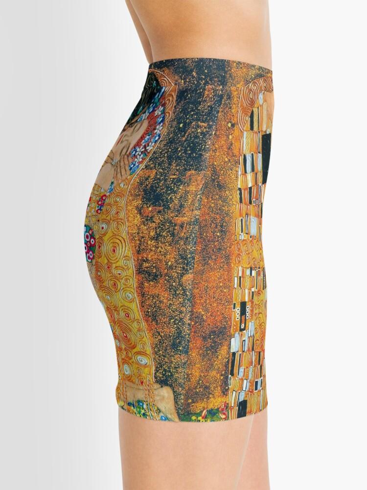 Alternative Ansicht von Gustav Klimt - Der Kuss Minirock