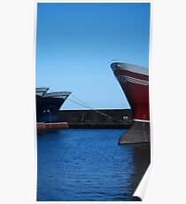 Fishing vessels Poster