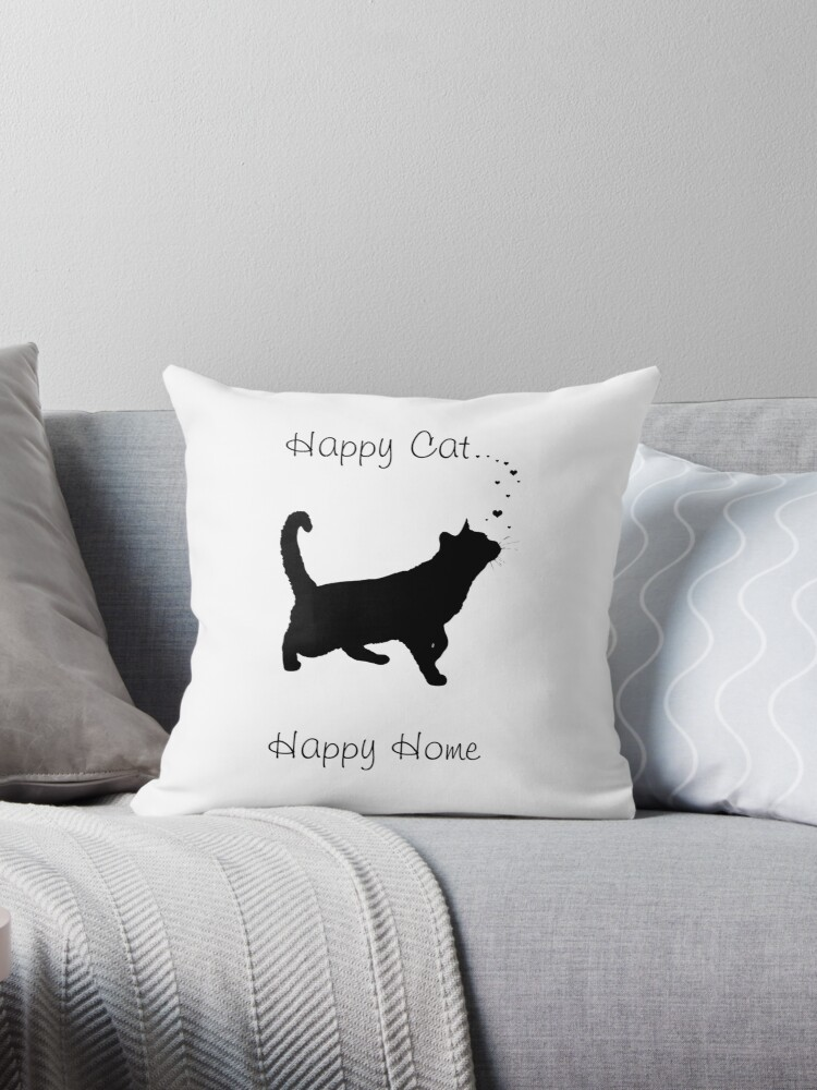 Happy Cat . Happy Home by Bamalam Art and Photography