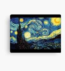 Vincent Van Gogh - Starry night  Canvas Print