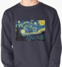 Vincent Van Gogh - Starry night  Pullover Sweatshirt