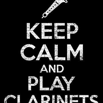 Clarinet reassurance by GeschenkIdee