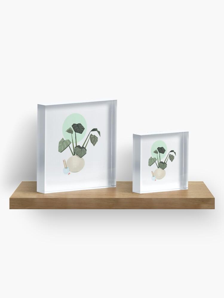 Alternate view of Plants plants plants Acrylic Block