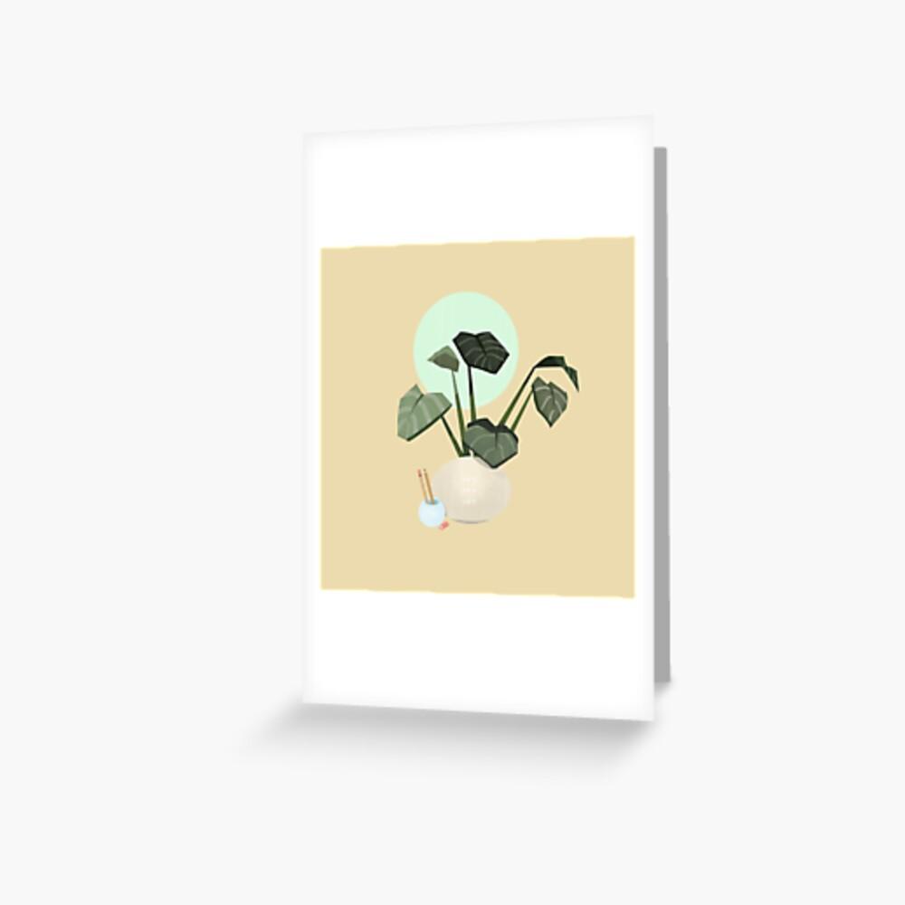 Plants plants plants Greeting Card