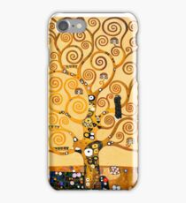 Gustav Klimt - The tree of life iPhone Case/Skin