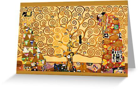 Gustav Klimt - Der Baum des Lebens von Selfcontrol
