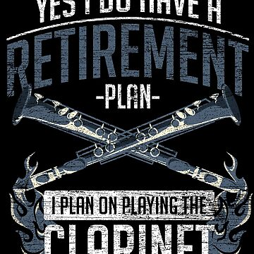 Clarinet pension by GeschenkIdee