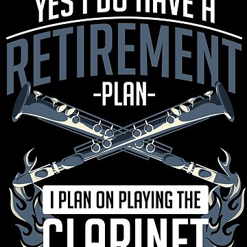 Clarinet retired by GeschenkIdee