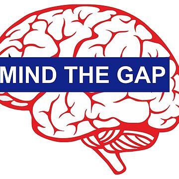 Mind the gap brain by dracula385