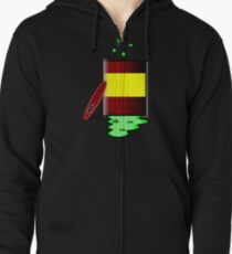 Toxic 2 by Chillee Wilson Zipped Hoodie