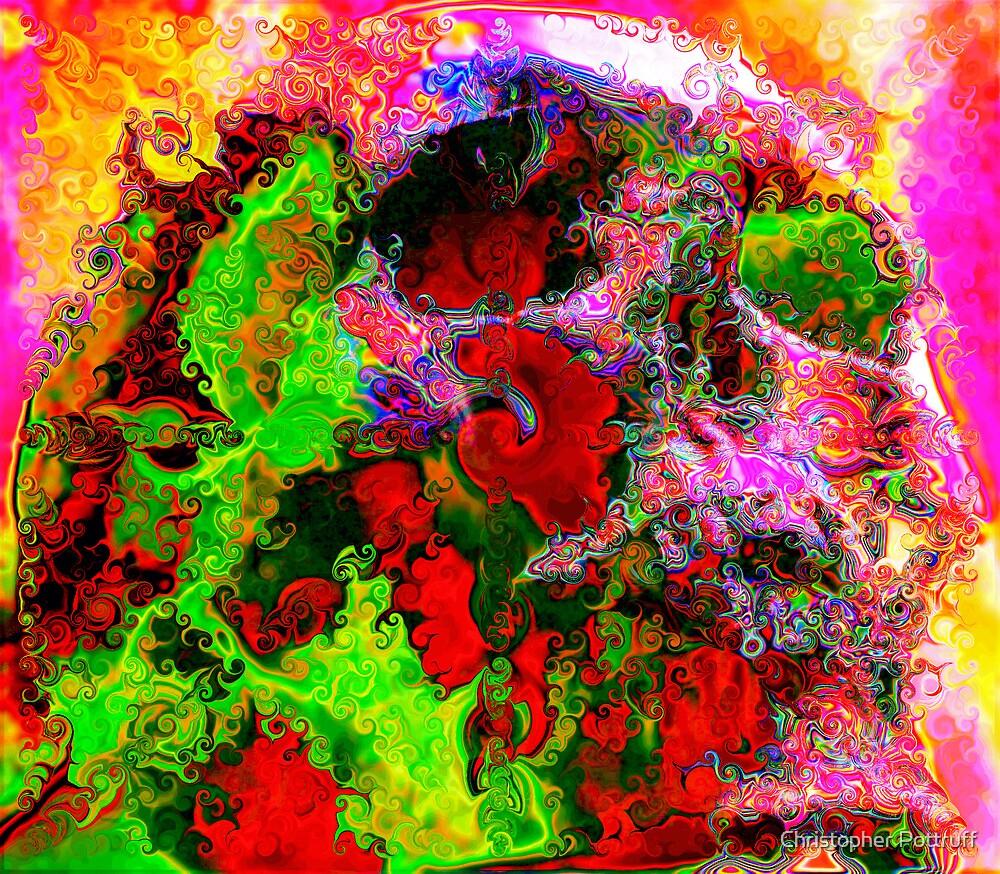Screaming Skull by Christopher Pottruff