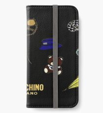 Vinilo o funda para iPhone Moschino Milano Collages de moda