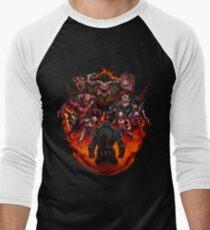 Fight like Hell 2 T-Shirt Men's Baseball ¾ T-Shirt
