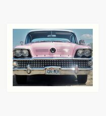58 Buick Centery,,,,after George's Restoration Art Print