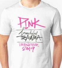 ROTE SCHÖNE TRAUMA WORLD TOUR 2019 Slim Fit T-Shirt